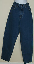 NWT Genuine SANDY RIVER medium blue misses relaxed fit denim jeans,6x32 or 8x30