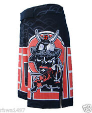 UN92 Bushido_Black, MMA Fight Shorts.