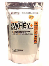 1lb 100% WHEY PROTEIN PRO ISOLATE COMPLEX + L-GLUTAMINE + INSTANTIZED BCAA