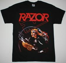 RAZOR EVIL INVADERS'85 THRASH SPEED METAL BAND SACRIFICE S-XXL NEW BLACK T-SHIRT
