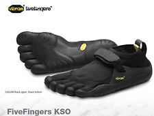 Vibram Fivefingers KSO Black/Black Mens sizes 40-47/7-14 NEW!!!