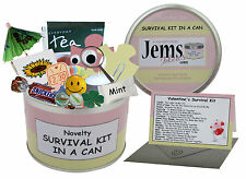 Valentine's Day Survival Kit In A Can. Novelty Gift - Girlfriend Present/Card