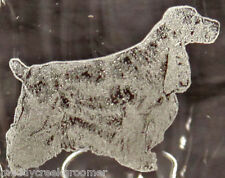 English Cocker Spaniel Dog Laser Etched Glasses- Choose your glass style