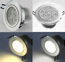 LED Ceiling Fixture Down Light Recessed Lamps Home Office Cabinet Frosted Glass