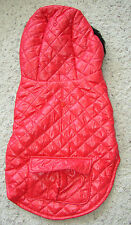 NEW RED DOG COAT WITH HOOD  S  M