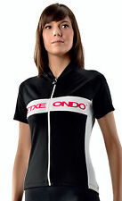 ETXEONDO Andre Women's CYCLING short sleeve Jersey in Black (made in Spain)