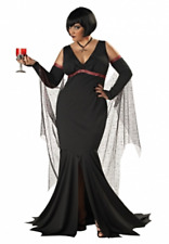 Womens Adult Vampire IMMORTAL SEDUCTRESS Dress Costume