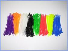 100pcs Cable tie zip lock 2.2 x 100mm ~ 4 inch with 11 color buy 2 get 1 free