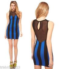 Motel Raina with Mesh Top and Stripes