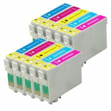 10 Colour Ink Cartridges non-OEM to replace T0802, T0803, T0804, T0805, T0806