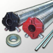 """Two- Garage Door Springs .234 x 2""""  ID -Galvanized- up to 36""""  Long"""