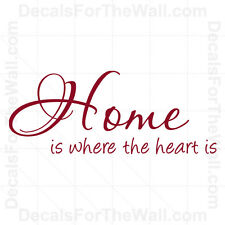 Home is Where the HeIs Entryway Entry Wall Decal Vinyl Sticker Quote Decor H21