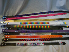 Childs Pyramid Studded Belts Asstd Colours and Designs Kids Goth Emo Rock