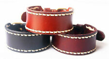New Styles 3 Colors Genuine Leather Bracelet Unisex Cuff Bangle Leather Nl077-79