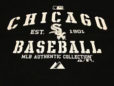 Chicago White Sox Classic Print Design T Shirt Jersey Majestic Authentic NEW NWT