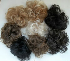 Synthetic Elastic Hair Scrunchie Piece Extensions Ponytail  Brown Blonde Black