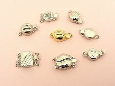 1 x 925 Sterling Silver HOOK CLASP Connector Jewelry Findings ~1 stand - 3 stand