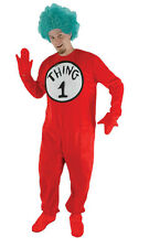 DR SEUSS THING ONE OR TWO CAT IN THE HAT COSTUME DRESS UP EL4350
