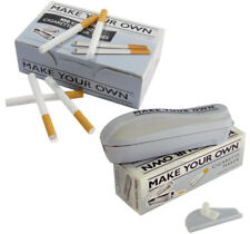 RIZLA MAKE YOUR OWN CIGARETTE KING SIZE FILTER TUBES CONCEPT +  FILLER MACHINE