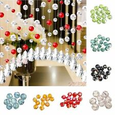 30pcs glass crystal round faceted ball spacer beads 6mm U Pick Colour