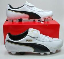 PUMA FUTBOL CLEATS Esito Soccer Shoes Cleats for Men White Black Gold 101716 08