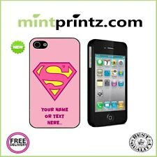 ★SUPERWOMAN Gift Girlfriend MUM Custom RETRO iPhone 4 & 4S HARD CASE BACK COVER★