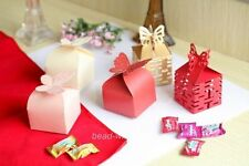 New 100pcs Nice Fashion Butterfly&Double Happiness Favor Gift/Wedding Candy Box