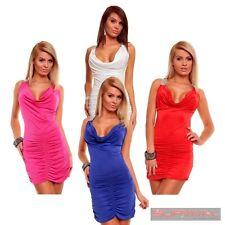 WOMENS NEW SLEEVELESS FASHION DRESS SEXY SZ 8-10 LADIES PARTY COCKTAIL EVENING