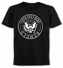"Custom ""Your Text"" Ramones Rock'n'Roll T-Shirt, Your Names, All Sizes & Colours"
