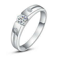 ViVi Ladies Engagement sterling silver Diamond Ring 8483a