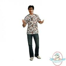 Charlie Sheen Mask and Shirt (Medium and Extra Large) by Rubies