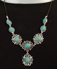 New Antique Style Natural Turquoise Necklaces Various Styles/Prices 50% Off MSRP