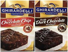 7Lb 8oz Ghirardelli Chocolate Brownie Mix One Box Pick Flavor