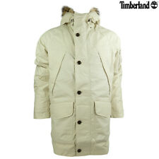 Brand New Mens Timberland Wilmington Long Down Snorkel Moonbeam Parka Jacket