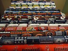 NFL Cotton Football Fabric - NFC Teams  1/4 Yard  9 inches x 58 inches