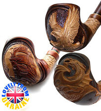 UK *ANY MODEL FOR CHOICE* Super Hand Carved Tobacco Smoking Pipe/Pipes №2