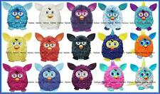 FURBY 2012 Interactive Electronic Toy TEAL PINK PURPLE PLUM YELLOW RED BLUE AQUA