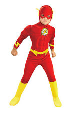 LICENSED DELUXE MUSCLE CHEST FLASH CHILD BOYS DRESS UP HALLOWEEN COSTUME
