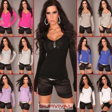 NEW SEXY WOMENS SZ 6-8-10 PARTY CLUB WEAR CASUAL SWEATER JUMPER LONG SLEEVE TOP