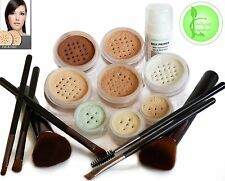 Bare Natural Cover Intelligent Cosmetics Minerals Foundation Make Up 13 pce Set