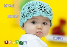 Baby Kid/New born Girl Crochet Knitting Beret Beanie Hat Cap Prop Shower Gift