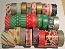 Washi Tape 15mm x 10m Roll Decorative Sticky Paper Masking Tape Adhesive Gift