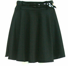 WOMENS LADIES SKATER PLEATED SKIRT SIZE 8 10 12 14