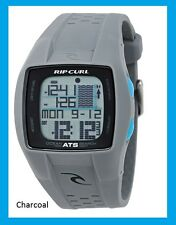 Rip Curl Trestles Oceansearch Tide Watch Green Orange Black Lime Black White