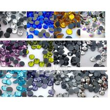 7200pcs DMC Iron On Hotfix Crystal Rhinestones Many Colors SS10, SS16, SS20