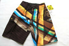 NEW with tag QUIKSILVER boys stretch cool board shorts sz: 3,4,5,6,7,8