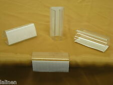 """Table Skirt Clips With Velcro. For 3/4"""" - 1"""" Tables. Clip measures 2 1/2 Inches"""