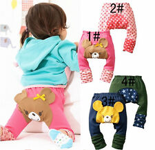 ❤ Baby Boy Girl Toddler Leggins Trousers Pants 6-12 12-18 18-24 month S/M/L ❤