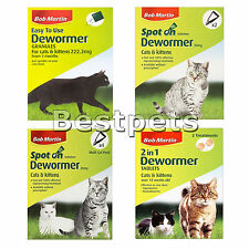 Bob Martin Dewormer Spot on, Granules, Tablets for Cats and Kittens