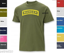 United States Army Rangers T-Shirt US USA Military Ranger Airborne Shirt Tee